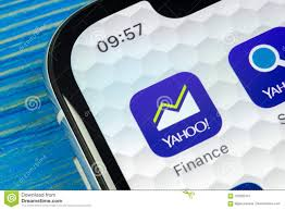 yahoo finance icon. Fine Finance Download Yahoo Finance Application Icon On Apple IPhone X Smartphone Screen  Closeup Intended R