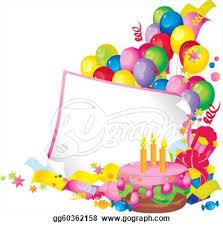 birthday balloons border clip art. Unique Birthday Free Birthday Border Clip Art Intended Birthday Balloons Border Clip Art