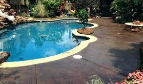 concrete pool deck paint ideas pool concrete patio ideas stained concrete pool deck and play area