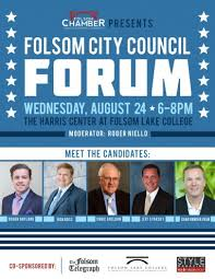 Folsom City Council Candidate Forum Set Myfolsom Com