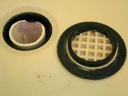 replacement shower drain shower drain gasket shower drain seal replacement prying the rubber gasket out replace