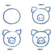 easy animals to draw. Unique Animals RABBIT How To Draw A Pig For Easy Animals To Draw