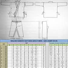 Karate Uniform Size Chart Malino Kids Heavyweight Judo Trousers Blue 750g