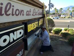 Commercial Sign Services Campbells Lighting Services - Exterior sign lighting