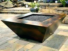 gas fire pit table 38 square