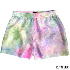 Tie Dye Designs For Shorts Melodious Pastel Tie Dye