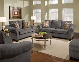 astounding round coffee table feat shade table lamps as well as living room charcoal sofa set on wooden floors in modern interior decors