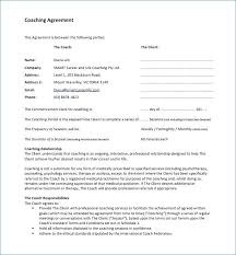 Hr Contract Templates Impressive Pretty Executive Coaching Agreement Template Pictures H R Business