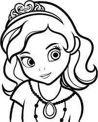 Coloring Pages Of Girls Together With Cute Girl Coloring Pages Best