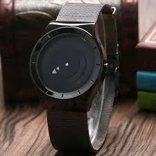 mens trendy watches promotion shop for promotional mens trendy paidu turntable dial net mesh steel band wrist fashion trendy watch men women student gift casual watch relogio masculino mujer