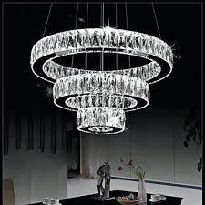 t creative large colorful crystal pendant light