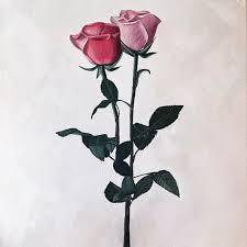 Self-taught artist Ashley Bunting has a flair for the romantic. Her  feminine artworks encapture a wistful sense of gra… | Feminine artwork,  Floral painting, Art day