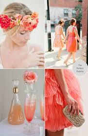 Coral Color Combinations 588 Best Wedding Color Schemes Images On Pinterest Wedding Color