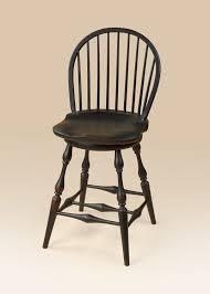 historical swivel low bow back windsor stool image