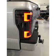 2019 F250 Smoked Cab Lights Recon 264299ledrbk Ford Superduty 17 19 F250 F350 F450 F550 Red Smoked Tail Lights Led