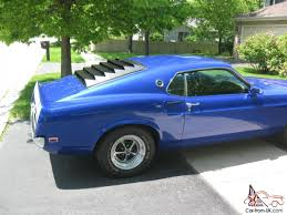 Ford Mustang Fastback/Sportsroof - 351 Windsor - Midnight Blue
