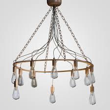 blood wire chandelier black 12