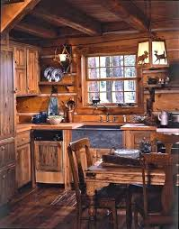Cabin Kitchen Design Creative Awesome Ideas