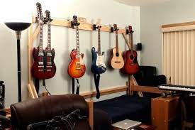 hanging guitars on the wall is it ok