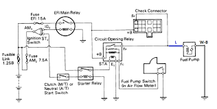 Wiring Diagram For Electric Fuel Pump Fuel System Wiring Diagram