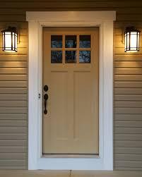 craftsman style front doorCraftsman Front Door  Portage 3252  Wayne Homes  Flickr