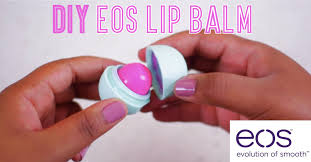 how to make your own tinted eos lip balm