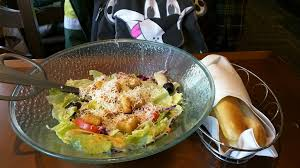salad and breadsticks by morton fox