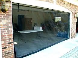 mesmerizing garage door screen kit s retractable kits
