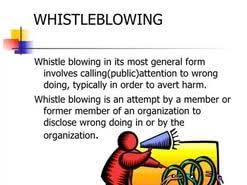 whistle blowing essays  whistle blowing essays