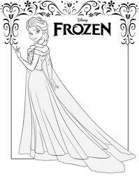 Anna Und Elsa Bilder Zum Ausdrucken Kostenlos 1ausmalbildercom