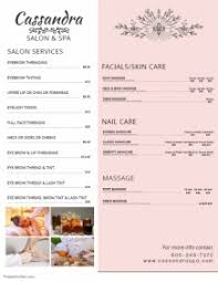 Customizable Design Templates For Price List Template | Postermywall