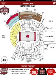 Camp Randall Student Section Seating Chart An Interactive Camp Randall Stadium Map Shows You Everything
