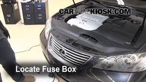 replace a fuse 2007 2012 lexus es350 2008 lexus es350 3 5l v6 2009 Lexus ES 350 at 2008 Lexus Es 350 Fuse Box Diagram