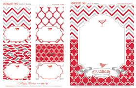 Free Holiday Printables Peppermint Twist Hostess With