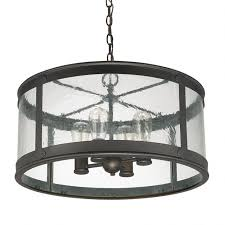 4 light outdoor pendant