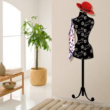 Mannequin Coat Rack Simple 32 Removable Mannequin Wall Mounted Living Room Clothes Hat Jacket
