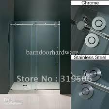 2018 frameless sliding glass shower door hardware from barndoorhardware 271 36 dhgate com