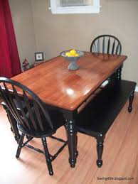 Kitchen Table Refinishing Refinishing The Dining Room Table