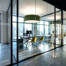 private office design ideas. Modern Office Space Design Ideas Glass Walled Private At In By Ted Home Designs T