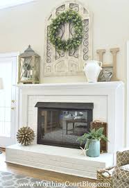 Fresh Mantle Decoration Ideas 22 With Additional Home Decorating