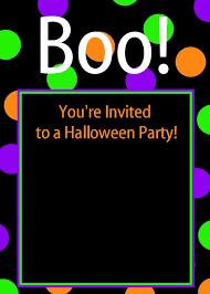 Downloadable Birthday Invitations Cute Free Printable Halloween Invitations Fun Squared