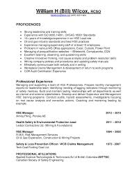 Mining Safety Manager Sample Resume Extraordinary Resume