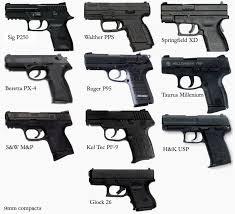 Gun Size Comparison Chart 9mm Compacts Comparison A Photo On Flickriver