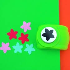 Paper Flower Punches Flower Paper Punch New Middle Flower Shape Paper Punch Card Photo