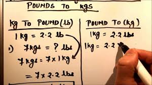 Pounds Into Kilograms Conversion Chart How To Convert Kilograms To Pound Kg To Lb And Pounds To Kilogram Lb To Kg