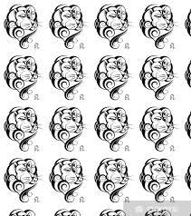 Tapeta Znamení Lev Tetování Design Na Míru