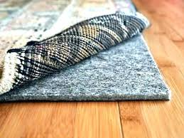 rug pad for carpet best carpet pads for hardwood floors feeling warm and comfortable with best