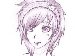 аниме рисунки для срисовки 60 картинок для начинающих