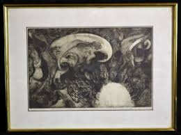Leona Stein Signed Artwork #4/15   Art, Antiques & Collectibles Art    Online Auctions   Proxibid