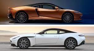 Mclaren Gt Vs Aston Martin Db11 Which British Grand Tourer Gets Your Vote Carscoops